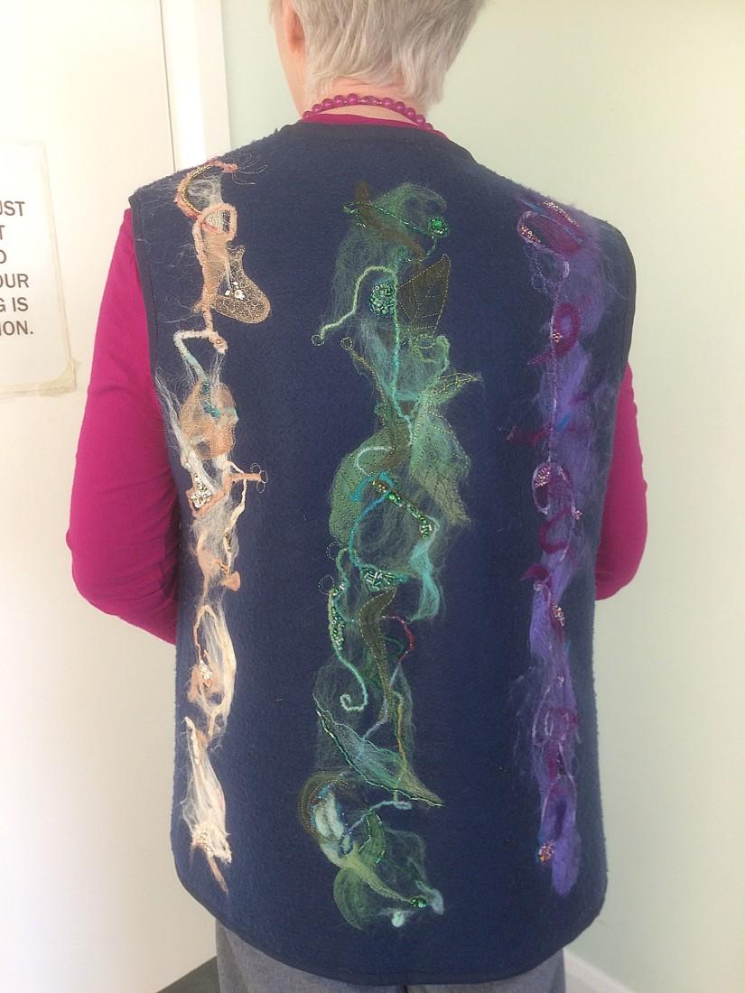 Felt & Bead work  - Diane Bunyan